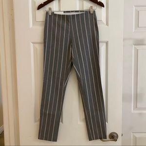 NWT - Calvin Klein Grey Stripe Stretch Dress Pants